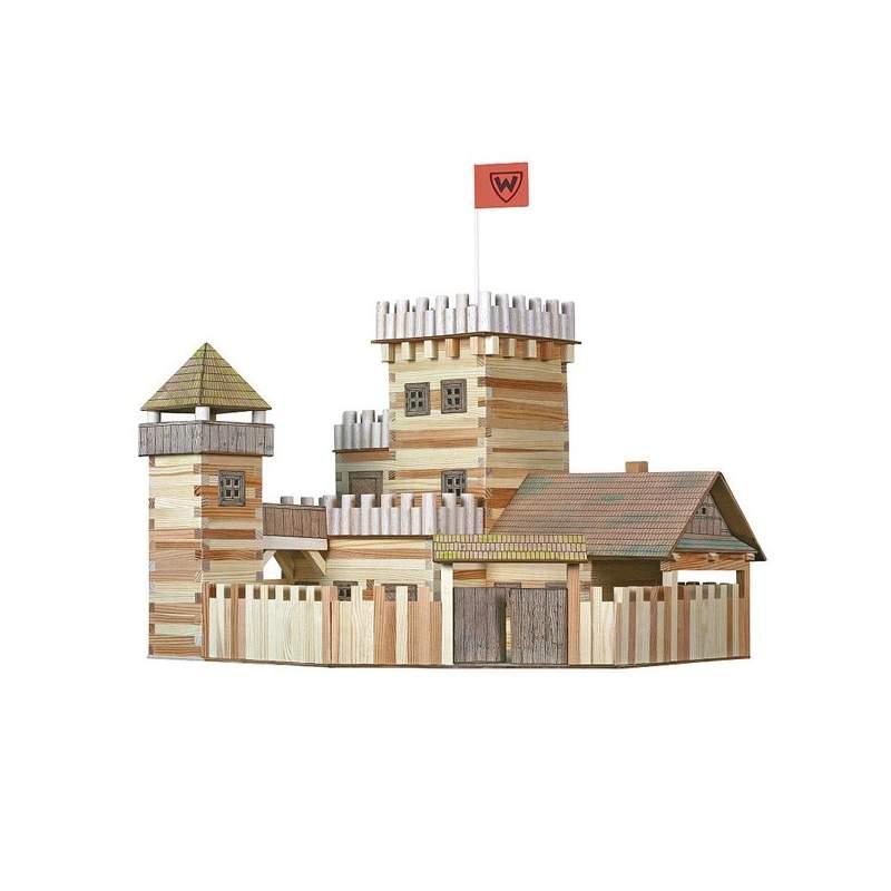 Walachia manualidad infantil castillo de madera para - Construir altillo madera ...