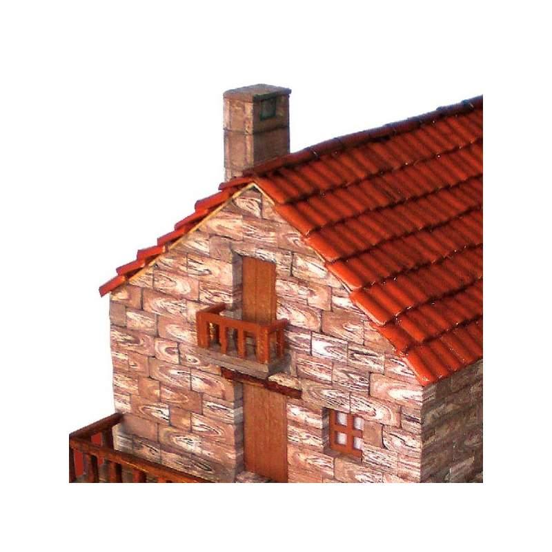 Maqueta casa tipica gallega cuit para construir - Casa tipica gallega ...