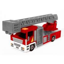 Camión de bomberos, maqueta Artymon en madera para montar, Keranova