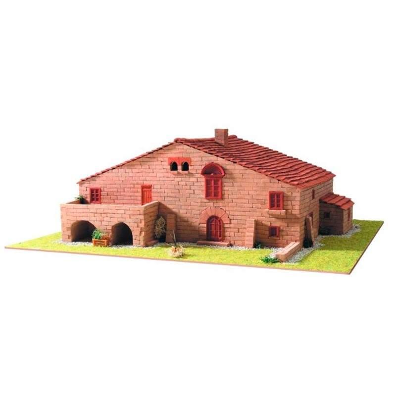 Mas a catalana 1 keranova en kit de construccion en ceramica - Materiales de construccion en murcia ...