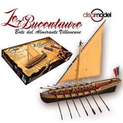 Le Bucentaure 1797. Lancha del Almirante Villeneuve. Disarmodel 1:35