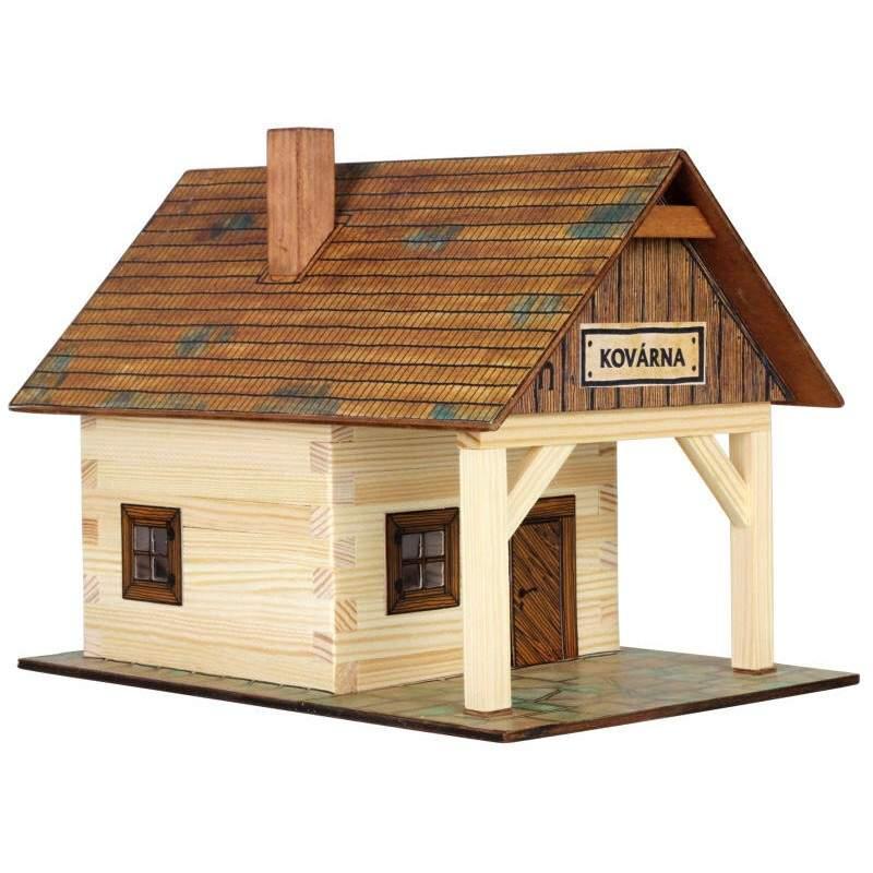 Refugio de madera - Casas en miniatura de madera ...