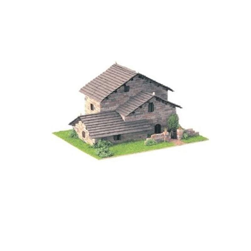 Casa de construcci n r stica 3 domus kits - Construccion de casas rusticas ...