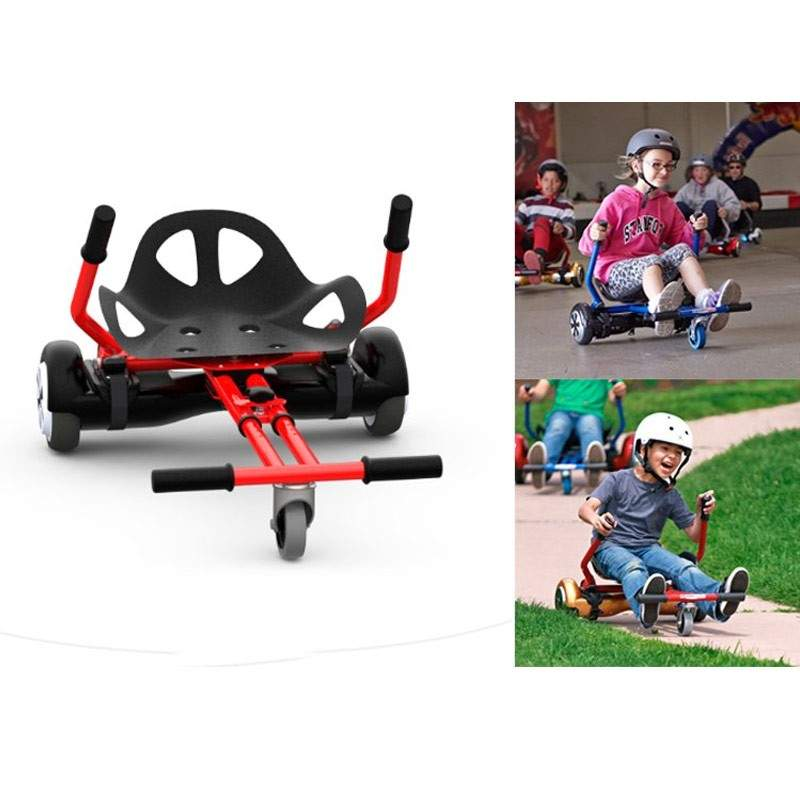 Accesorio hover kart para patinete electrico scooter for Sillas para hoverboard