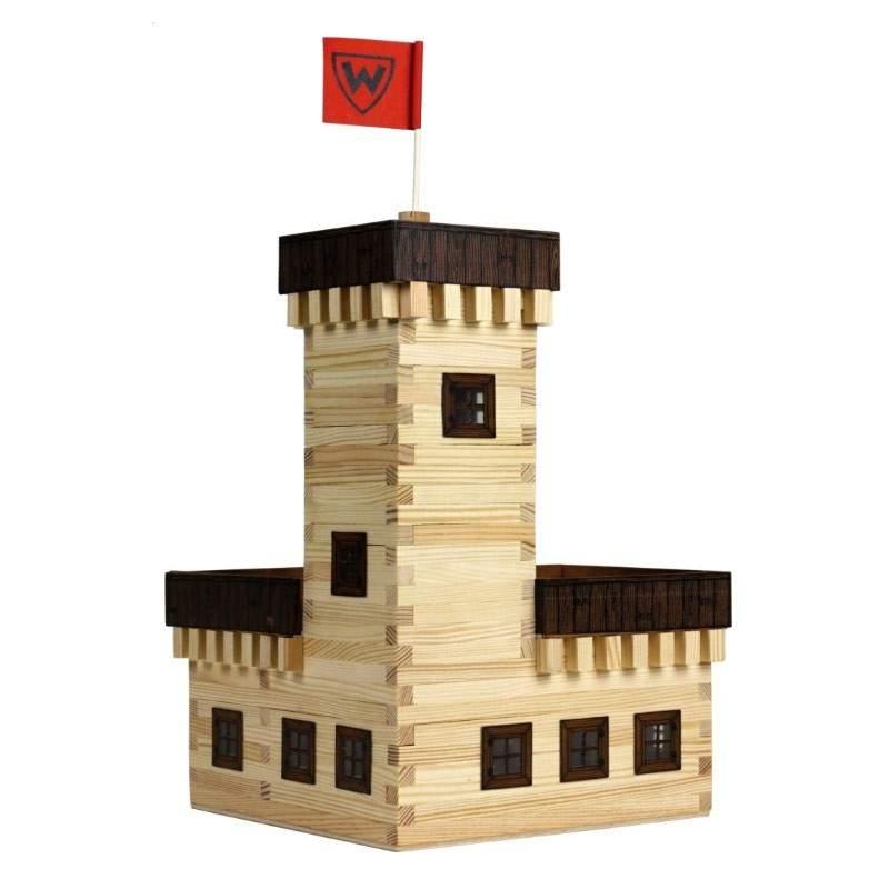 Walachia castillo de verano w29 en madera para construir - Construir altillo madera ...