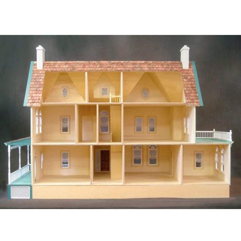 Casa de mu ecas mansion en kit for Kit casa icf