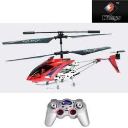 Helicoptero mini rojo 3 canales por infrarojos WLtoys