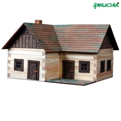 Casa rural n 18 lonely house samota en madera para montar for Casa rural mansion terraplen seis