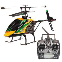 Helicoptero WL Toys V912 4 canales 2.4 Ghz 40cm rc electrico naranja