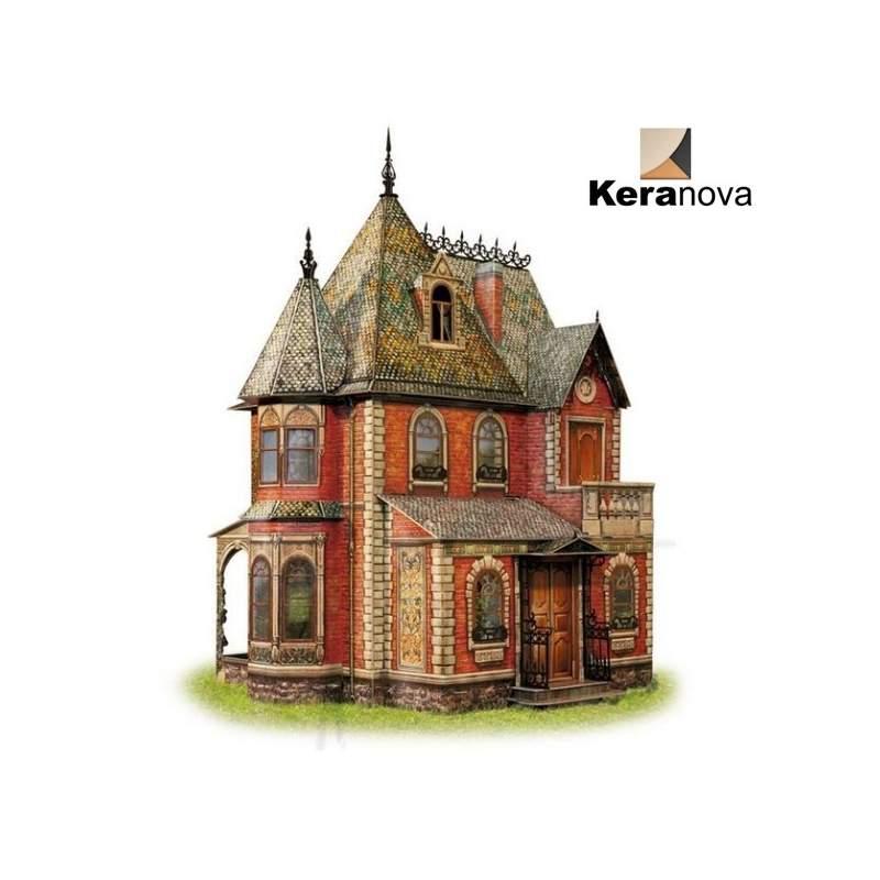 Casa de mu ecas victoriana montada keranova clever paper - La casa del puzzle madrid ...