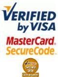 Pago seguro verificado por visa