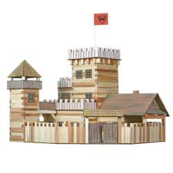 Walachia Manualidad infantil Castillo de madera para construir