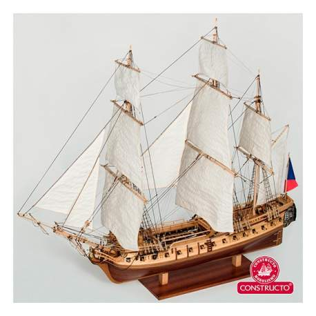 Maqueta naval La Flore 1:84 Constructo