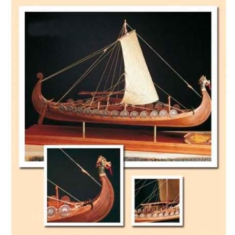 Maqueta naval nave Vikinga 1:50 Amati Modelismo