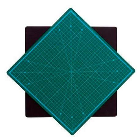 Tapete de corte giratorio 35x35 cm Artesania Latina 27647