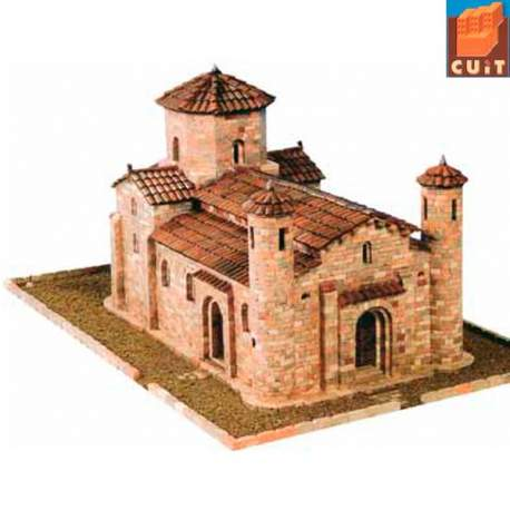 Iglesia San Martin de Fromista construccion en piedra para montar Cuit