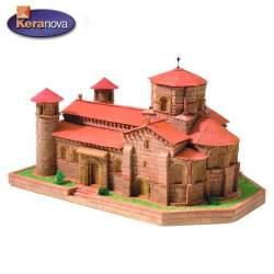 Iglesia San Martin de Fromista kit de construccion en ceramica