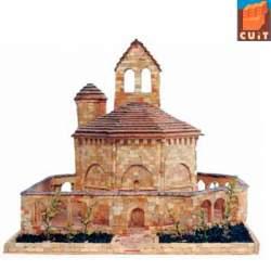 Construcción en piedra, Iglesia Santa Maria de Eunate - Cuit