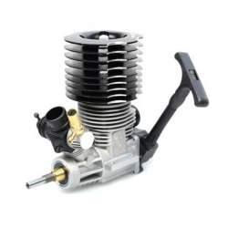 Motor GO 21 Hobbytech con tirador.Motor rc explosion para coches 1/8