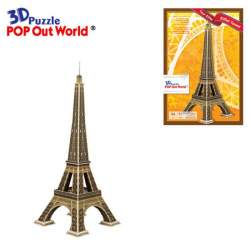 Puzzle 3D Torre Eiffel Pop Out World