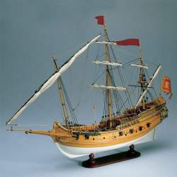Polacra Veneziana Maqueta naval Amati 45 cm