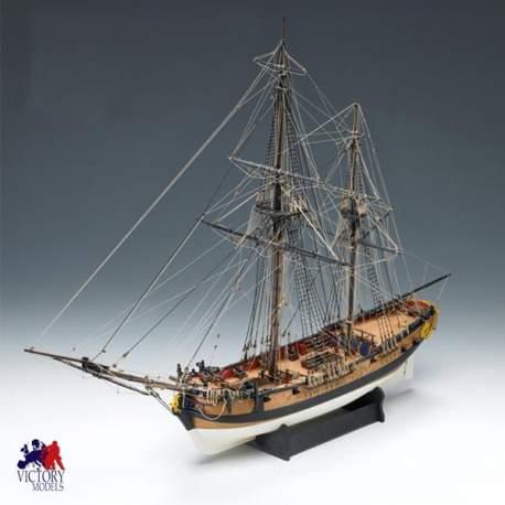Barco H.M.S. Granado en kit para montar Amati Modelismo 1:64