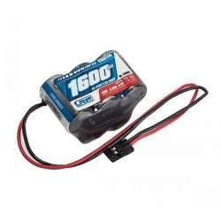 Batería Batería 6V-1600mAh NiMh RX 3x2 Futaba LRP