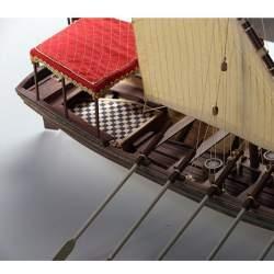 Maqueta Naval Falua del navio Salvador del Mundo 1/30 Disarmodel