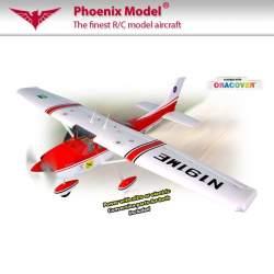 Avión Cessna 182 .120 EP/GP ARF Phoenix Model