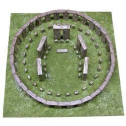 Stonehenge Amesbury Inglaterra 1:135 Aedes Ars kit de construccion