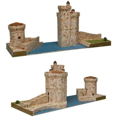 Torres de La Rochelle 1:220 (Tours de La Rochelle) Aedes Ars kit