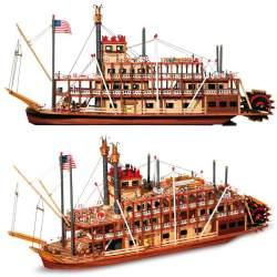 Maqueta naval Vapor Mississippi 1:80 Occre
