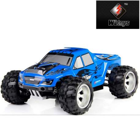 Coche Monster 1:18 RTR 2.4Ghz WLToys Azul