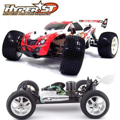 Hyper ST RTR Truggy Hobao Racing 1:8 Off-Road con emisora 2.4ghz