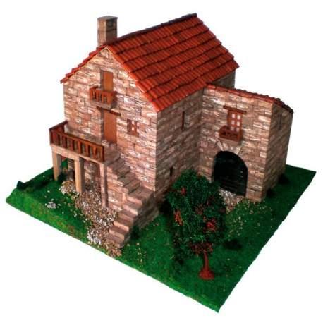 Maqueta Casa tipica gallega Cuit para construir