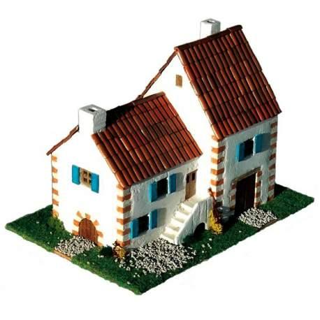 Maqueta Casa tipica Republica Checa Cuit para construir