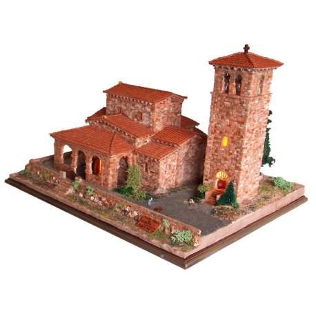 Iglesia Santa Maria Lebeña Cuit, iglesia para montar