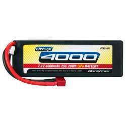 Bateria LiPo 2S 7,4V 4000mAh 25C Deans