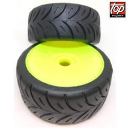 Rueda RALLY GAME X SOFT COMPETICIÓN SM 1:/8 Rally Game SP Tires Competicion Top Engines 2 unidades