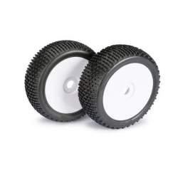 Ruedas Wheel Set LP Buggy Disc Dirt white 1:8 (2 pcs)Disc