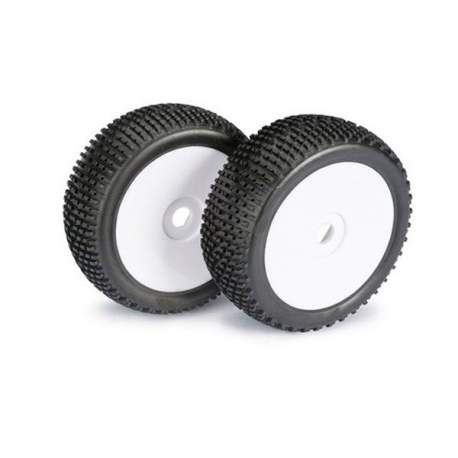 Ruedas Wheel Set LP Buggy Disc Dirt white 1:8 (2 pcs)Disc