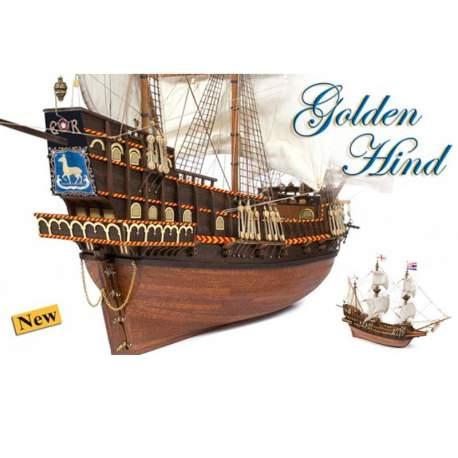 Maqueta naval Golden Hind 1:85 Occre