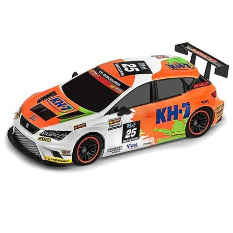 Coche rc 1/10 RALLY GAME SEAT LEON KH7 Ninco