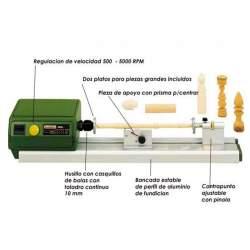 Minitorno de precisión Proxxon MICRO DB 250