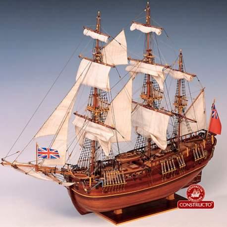 Maqueta naval Endeavour 1:60 Constructo