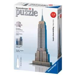 Ravensburger - Puzzle 3D Empire State 47cm 216 piezas