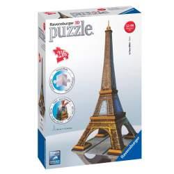 Ravensburger - Puzzle 3D Tour Eiffel Paris 216 piezas, 44 cm