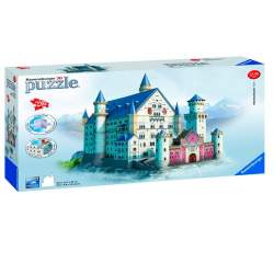 Ravensburger - Puzzle 3D Castillo de Neuschwanstein 216 piezas