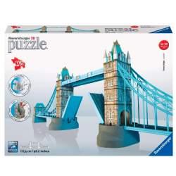 Ravensburger - Puzzle 3D Tower Bridge, puente de las torres de Londres 216 piezas (CONSULTAR DISPONIBILIDAD)