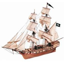 Maqueta naval Corsair Bergatín 1:80